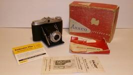 Ansco Speedex 4.5 Vintage Camera Agra Apotar 4.5/85mm Lens In Orig BOX &... - $41.73