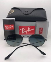New RAY-BAN Sunglasses RB 3547-N 001/3F 54-21 145 Gold Frame w/ Blue Gradient