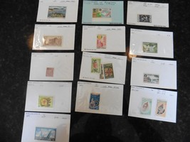 G52 Lot Stamps New Caledonia Nouméa Marina 1971 French revolution 1939 '... - $17.60