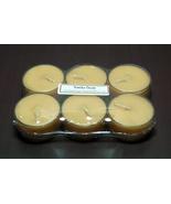 Vanilla Bean  PURE SOY Tea Lights (Set of 6) - $5.00