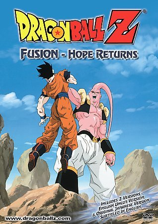 Dragon Ball Z - Fusion: Hope Returns DVD (Uncut and Edited) Brand NEW!