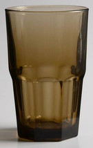 Crisa Boston-Mocha Collectible Large Solid Glass Tumbler Cooler - $13.99