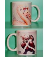 Lady Gaga 2 Photo Designer Collectible Mug 03 - $14.95