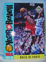 Michael Jordan 1997 Bulls in Finals Giant Card R5 - £1.07 GBP