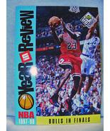 Michael Jordan 1997 Bulls in Finals Giant Card R5 - £1.08 GBP