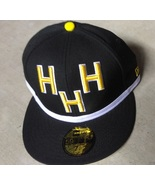 New Era 59Fifty Triple H Hall Of Fame Black Yellow Design Hat Cap Size 7... - £14.50 GBP