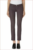 new J BRAND women jeans hipster low rise light coated chrome 25 MSRP $248 - $59.99