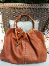 MICHAEL KORS Astor Bag Hobo Shoulder Leather St... - $121.54