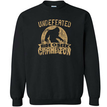 487 Undefeated Hide and Seek Champion Crew Sweatshirt sasquatch big foot new image 1