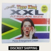 FREE SHIPPING XXL AFRICAN SIZE HERBAL CREAM FOR PENIS-ENLARGEMENT-TIGER-... - $28.70