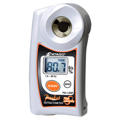 Atago PAL-LOOP Digital ABBE 0-85% Brix Refractometer