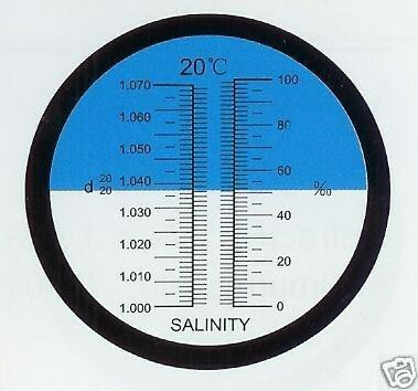 Salinity Refractometer Aquarium Hydrometer Refratometometer