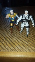1994 Marvel X Men Cable Action Figure lot of 2 X-Force Toy Biz - $10.96