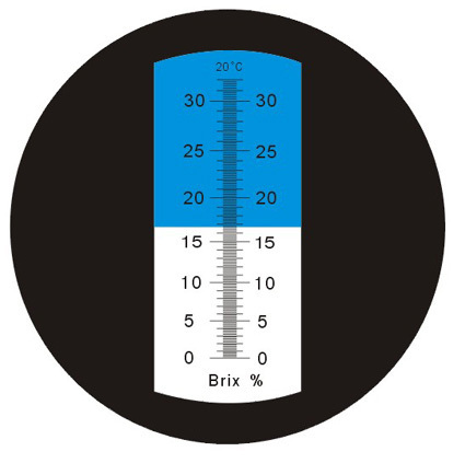 Heavy Duty 0-32% ATC Brix Refractometer CNC Beer Wine