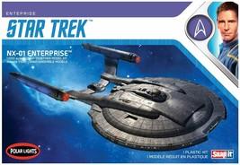 Polar Lights Star Trek 1/1000 Enterprise NX-01 Snap-It Kit 966 - $25.73