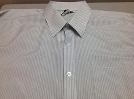 Calvin Klein Men's Stripe Long Sleeve  Shirt, Size L - $29.69