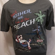 NWT Disney Story Grumpy Don't Bother Me I'm At the Beach Shirt Sz XL Hawaii - $33.65