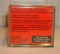 """Coke Coca-Cola McDonald's Mini Miniature 3.5"""" Soda Bottle Bobby Labonte #18 1999 image 5"""