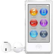 Apple iPod Nano, 16GB, Silver (7th Generation) - $188.09