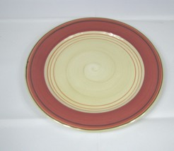 "Pfaltzgraff  Pottery HOT SALSA 11"" Dinner PLATES Set 3 Shades of Orange - $15.83"