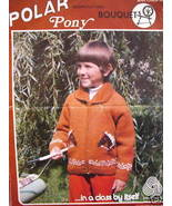 Bouquet COWICHAN TYPE SWEATER KNITTING Pattern Pony - $6.99