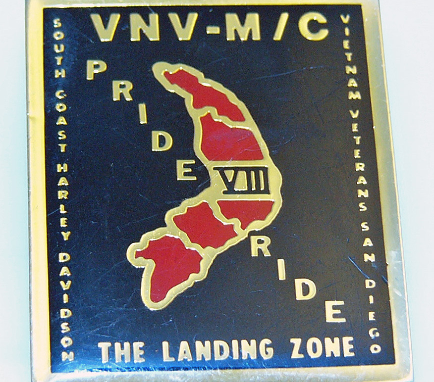San Diego Vietnam Veterans MC Harley Davidson Pin