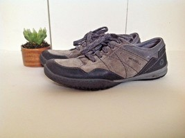 Merrell Granite Gray Suede Leather Sneakers Casual J42282 Women's US 8.5 EU 39 - $55.39