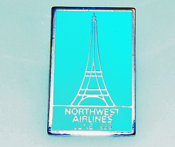 Northwest airlines pin