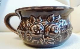 Vintage GULDKROKEN HJO 7404/1 Sweden Studio Art decor brown VASE flower pot - $15.00