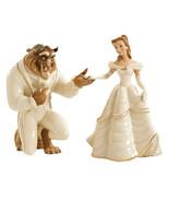 Lenox Disney Beauty Belle and The Beast Figurines My Hand My Heart Is Yo... - $189.30