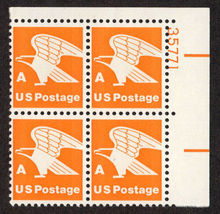 1978 A-rate Eagle US Postage Stamp Catalog Number 1735 MNH