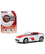 2020 Nissan 370Z Coupe 50th Anniversary White and Red Tokyo Torque Serie... - $20.00