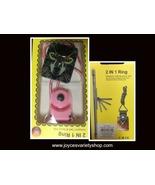 2 IN 1 Ring Kickstand Safe Secure Cell Phone Holder Multi-Color Art Dog - $5.99