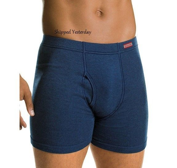 Primary image for Set of 2 Hanes Tagless ComfortSoft Waistband No Ride Up Boxer Briefs Size: XXL