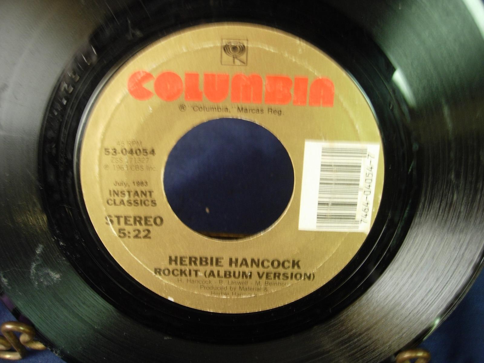 Herbie Hancock - Rockit - Columbia 53-04054
