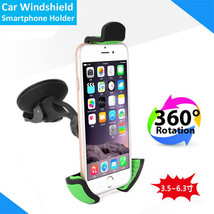 Car Phone Holder Cradle Window Shield Mount Stand for iPhone Samsung Xiaomi etc - $9.99