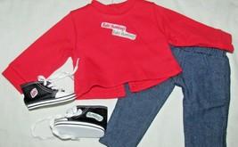 "18"" doll clothes hand made outfit Bah Humbug Christmas Carol shirt shoes... - $11.57"