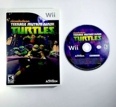 Teenage Mutant Ninja Turtles (Nintendo Wii, 2013) Disc & Case - Nickelod... - $9.45