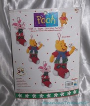 NEW 1999 Bucilla Disney Pooh & Piglet Set of 4 ... - $21.21