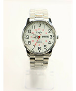 Eagle Quartz Railroad Approved Men's Stainless Steel Watch w/Day & Date - $139.95