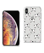 Reiko Apple Iphone Xs Max Design Air Cushion Case With Cow In Blue - $8.10