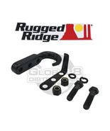 Rugged Ridge Black Steel Tow Hook for 1942-2002 Jeep CJ Wrangler YJ TJ - $13.99