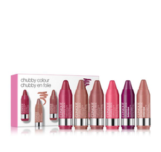Cliniques Chubby Colour Gift Set, Travel Size x 6 - $28.68