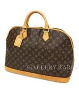 LOUIS VUITTON Alma Voyage MM Monogram M41446 Handbag France Authentic 54... - $1,173.15