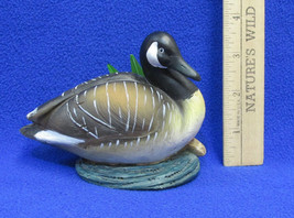 NOS Canadian Goose Bird Figurine In Polystone By Greenbrier Item 855858  - $10.34
