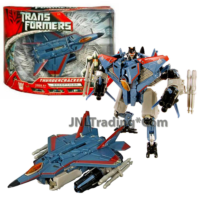 "Year 2007 Transformers 1st Movie Voyager Class 7"" Decepticon THUNDERCRACKER"