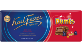 Karl Fazer Dumle milk chocolate with soft toffee 10 Bars 2kg 70oz - $64.34