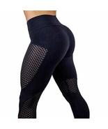 Women High Waist Yoga Fitness Leggings Running Workout Gym Sports Pants ... - $15.00