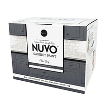 Nuvo Earl Grey All-in- All-in-One Cabinet Makeover Kit, Charcoal - $98.97