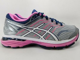 Asics GT 2000 v 5 Size US 7.5 M (B) EU 39 Women's Running Shoes Gray Pink T757N